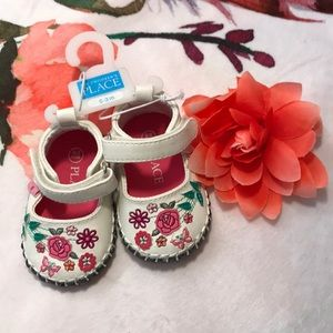 💥 5/$25 Children's Place baby girl shoes 0-3m